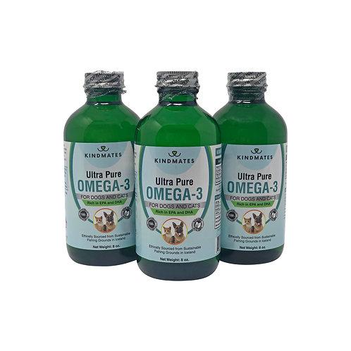Ultra Pure Omega-3 Fish Oil 8 oz