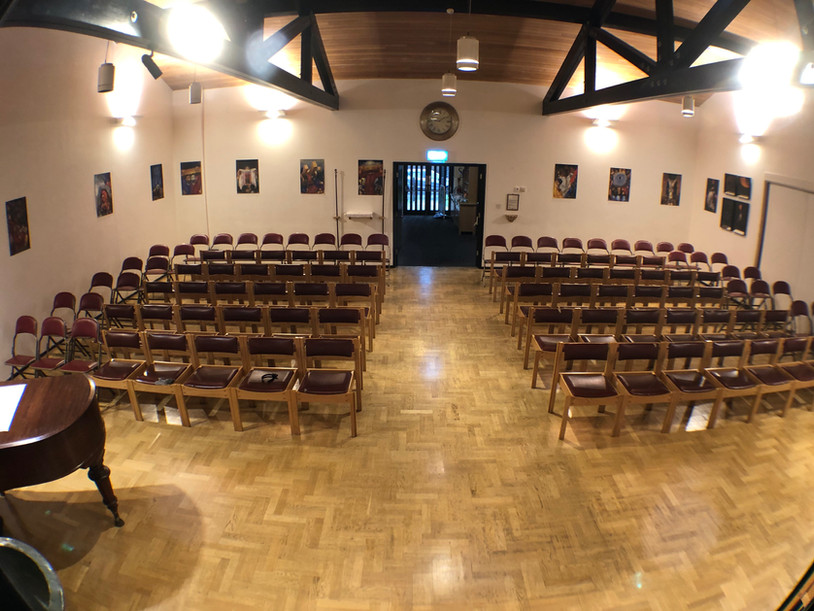 Worship Area - front centre view