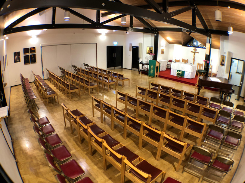Worship Area - south west view