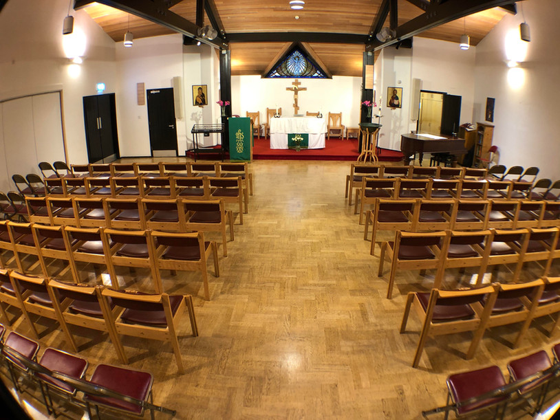 Worship Area - south view
