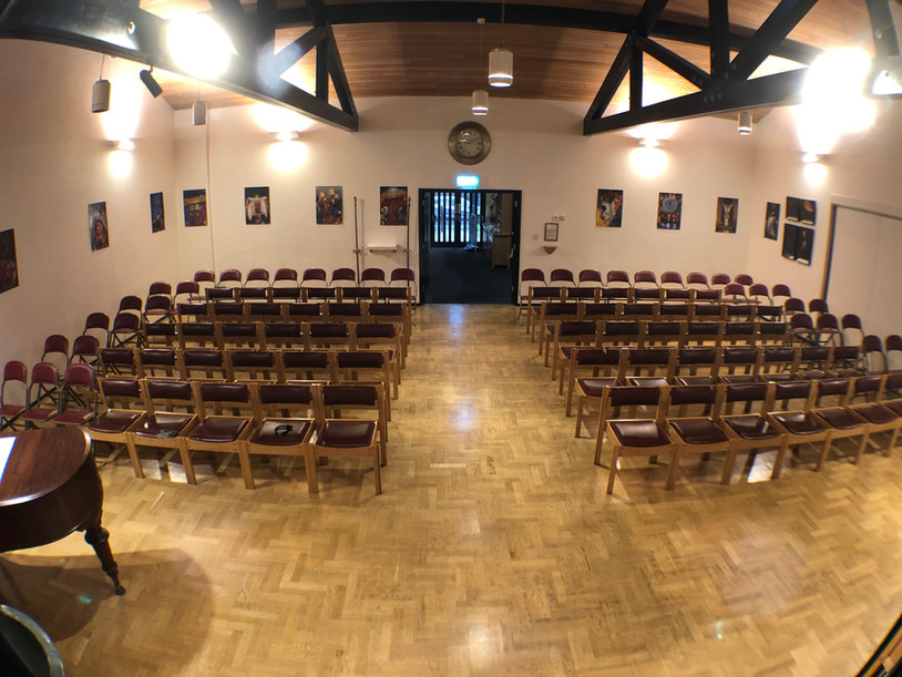 Worship Area - north view