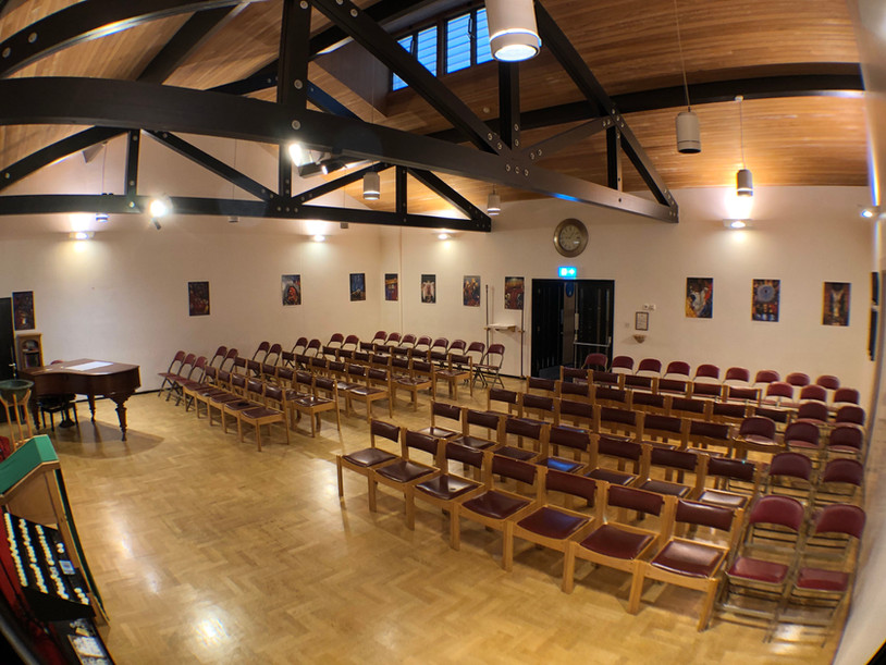 Worship Area - north east view