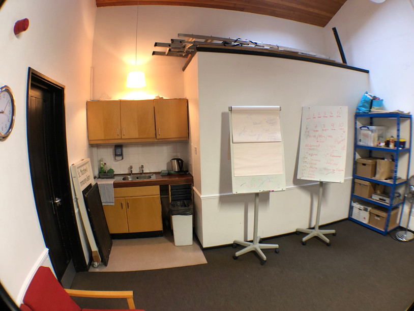 Meeting Room - kitchenette and boards