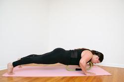 Magic Circle Pushup- Fitness Photo