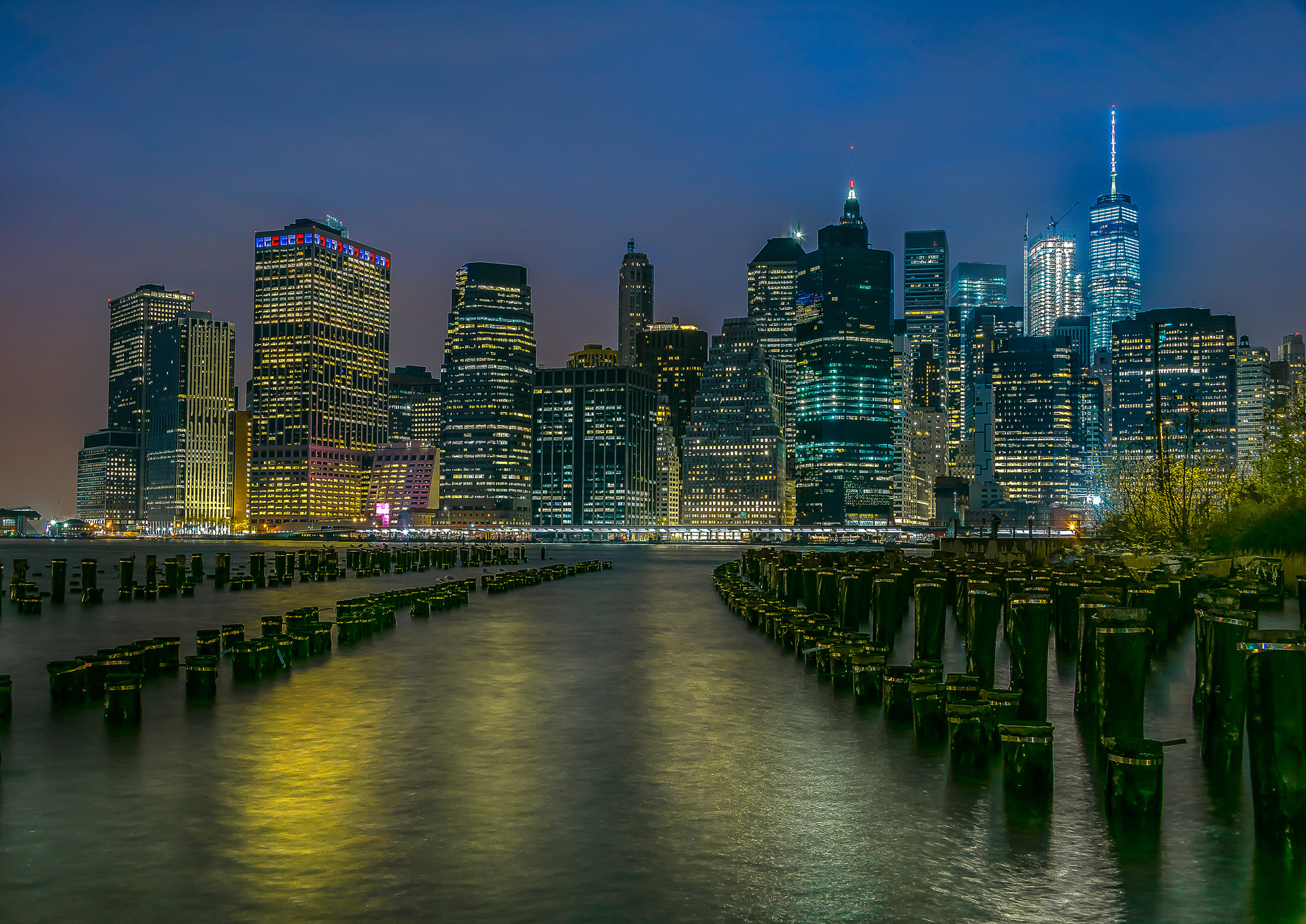 New York From Brooklyn