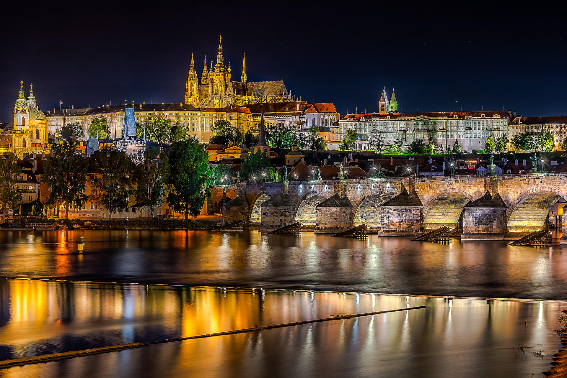 Night Time Prague