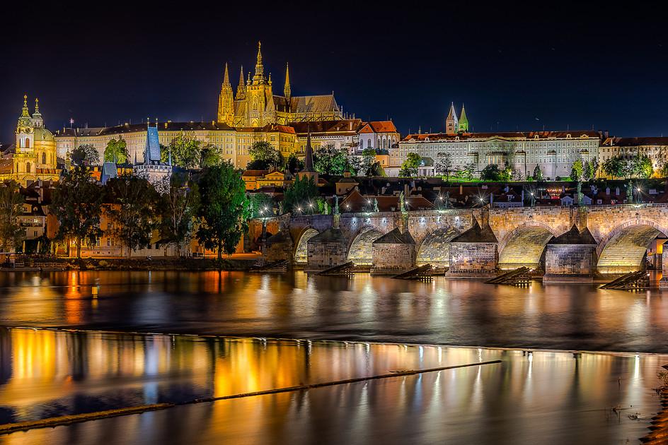 Night Time Prague