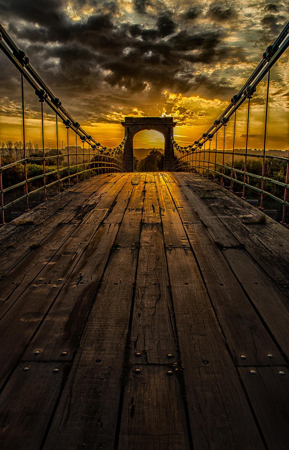 Horkstow Bridge Sunrise