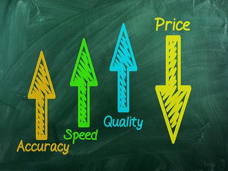 コストと品質。