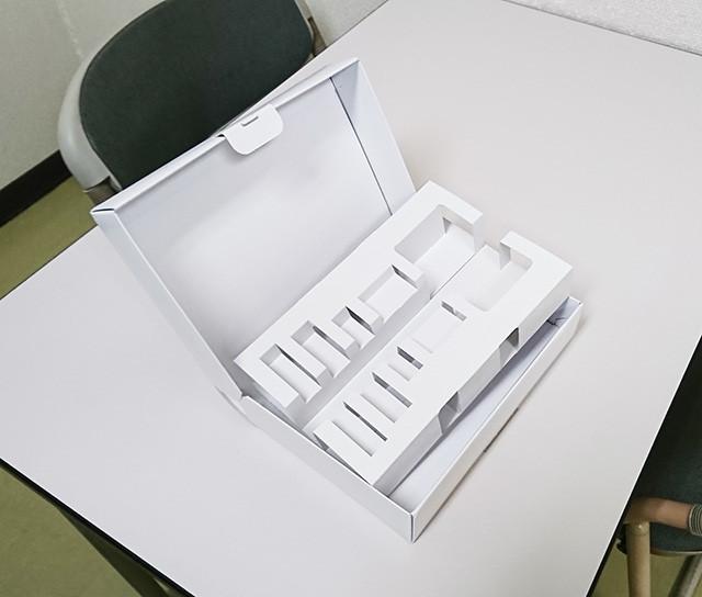 セットが複雑な箱