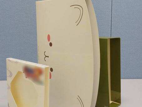 三方背ブックケースのご紹介