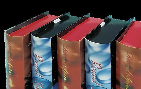 Book型パッケージ ROUND SPINE