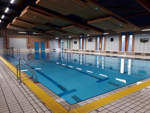 25 meter wedstrijdbad