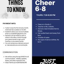 Cheer 6-8