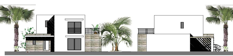 Projet façades contemporaine