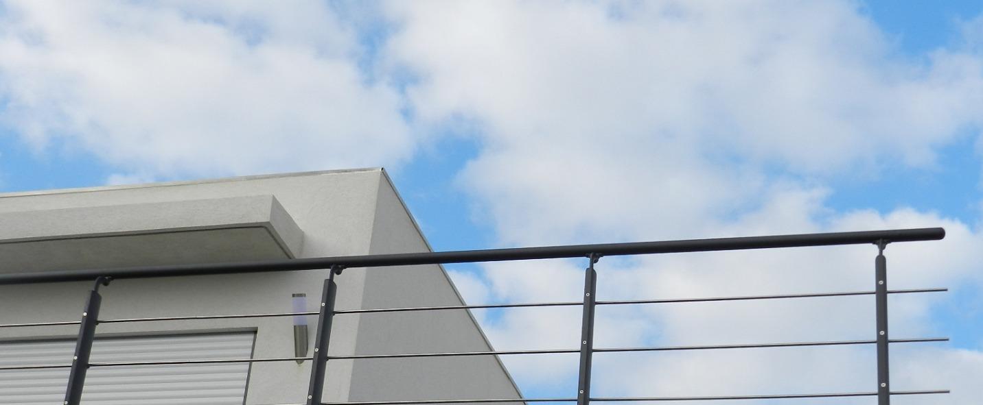 Terrasse de maison contemporaine