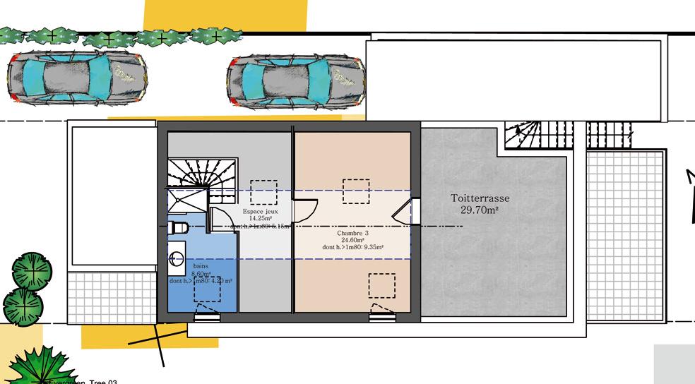 Projet 2 logements R+2