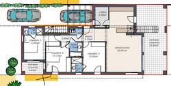 Projet 2 logements RDC
