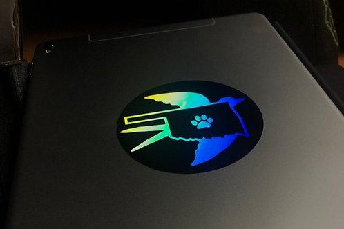 AnthroExpo Holographic Sticker