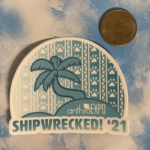 "AnEx ""Shipwrecked"" Theme Sticker"