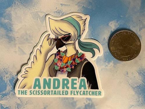 """AnEx """"Shipwrecked"""" Andrea Sticker"""