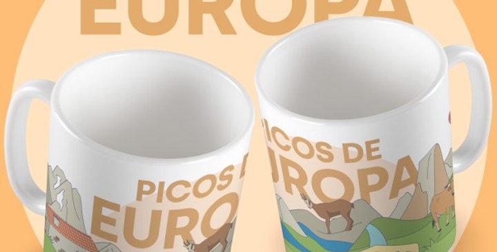 """Taza """"Picos de Europa"""""""