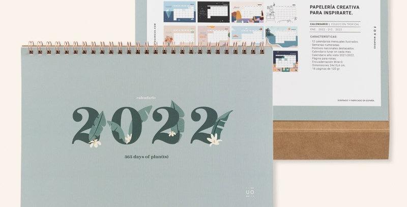 """Calendario 2022 """"Tropical"""""""