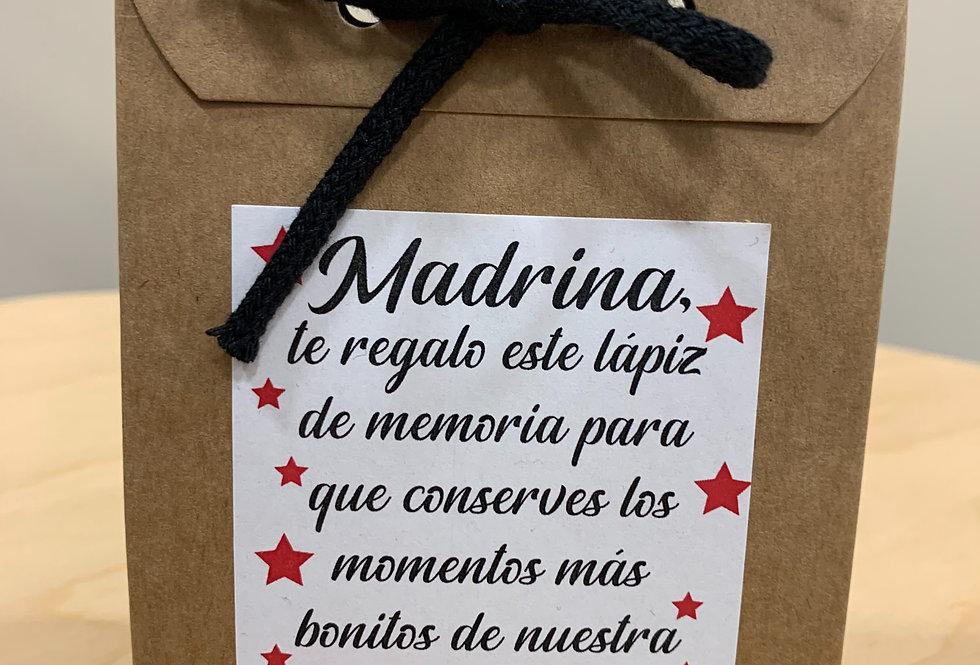 """Lápiz de memoria """"Madrina"""""""
