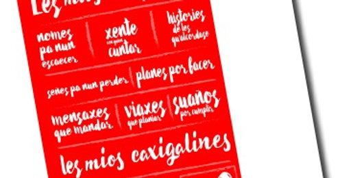 "Libreta ""Caxigalines"""