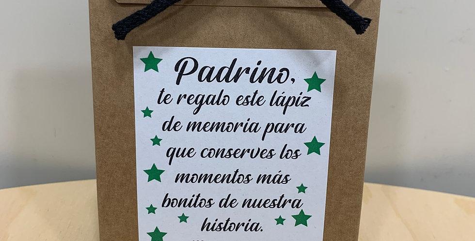 "Lápiz de memoria ""Padrino"""