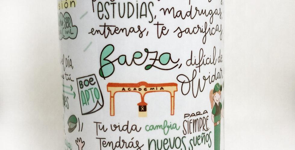 "Taza ""Objetivo Baeza"" QM"