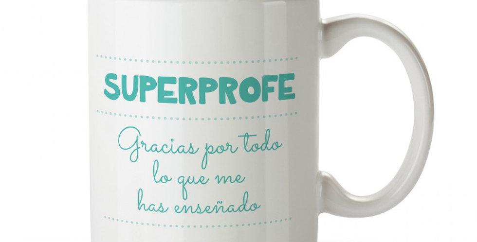"Taza ""Superprofe"""