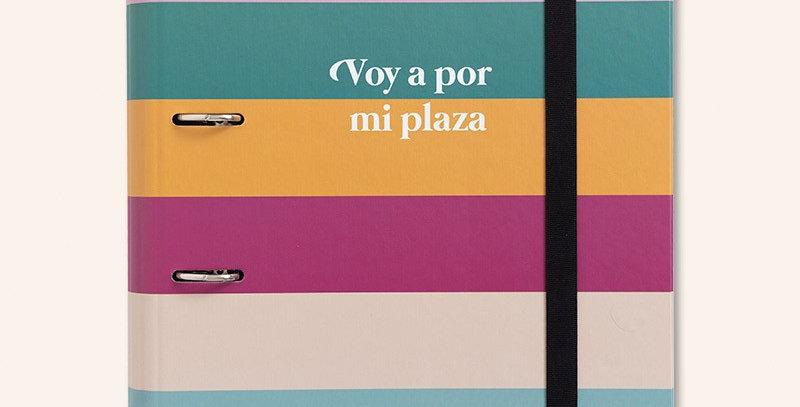 """Carpeta anillas """"Voy a por mi plaza"""""""