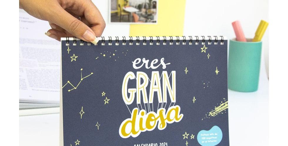 """Calendario 2021 """"Eres grandiosa"""""""