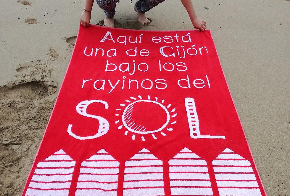 """Toalla """"Gijón"""""""