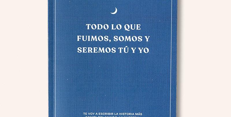 """Libro y álbum rellenable """"Tú y yo"""""""