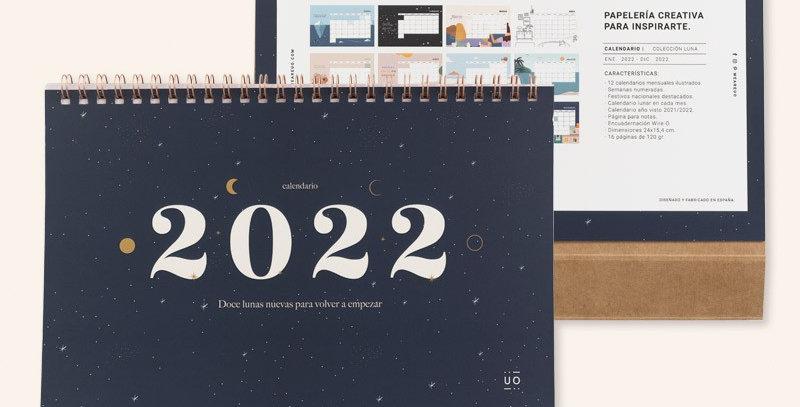"Calendario 2022 ""Luna"""