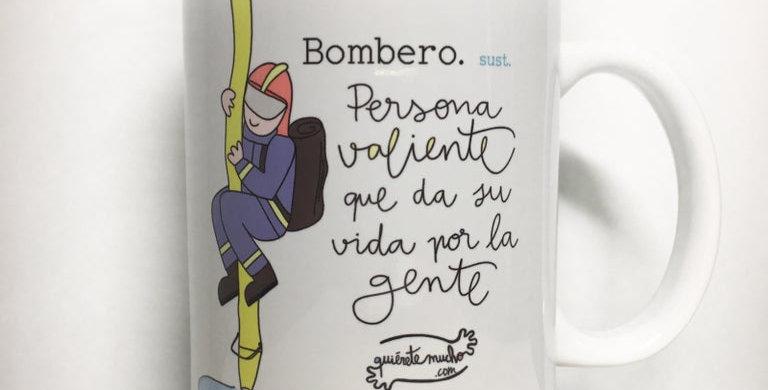 "Taza ""Bombero"" QM"