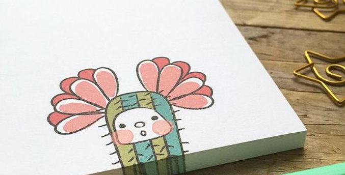 """Bloc de notas """"Cactus"""""""