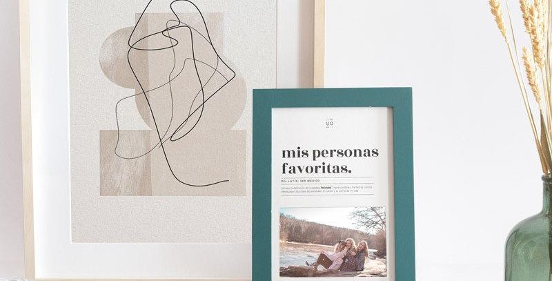 """Marco de fotos """"Mis personas favoritas"""""""