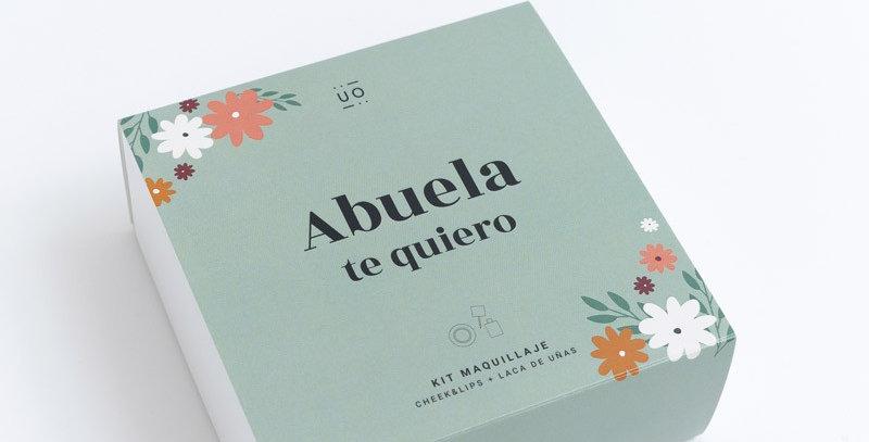 """Kit cheek & lips + laca uñas """"Abuela, te quiero"""""""