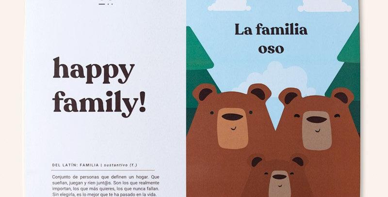 """Kit """"Happy family"""" ositos"""