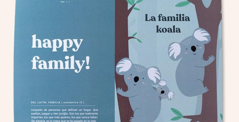 """Kit """"Happy family"""" koalas"""