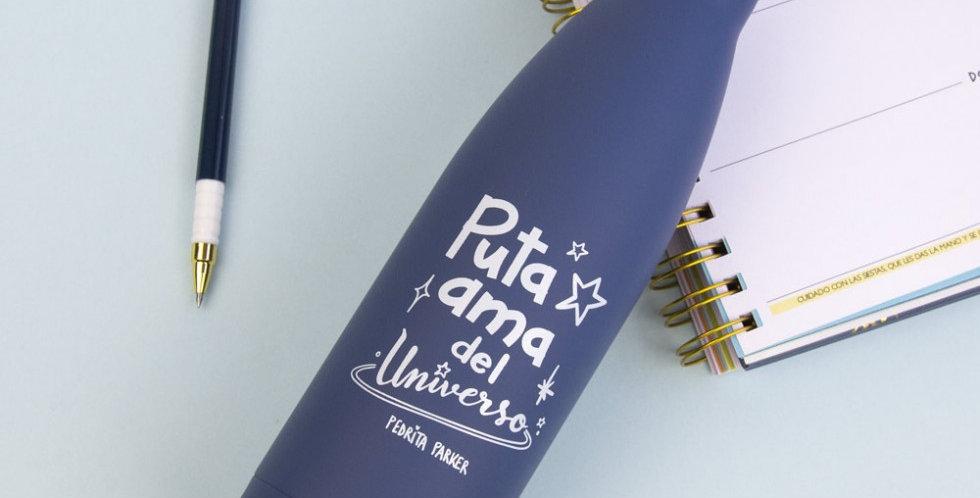 """Botella termo """"Ama del universo"""""""