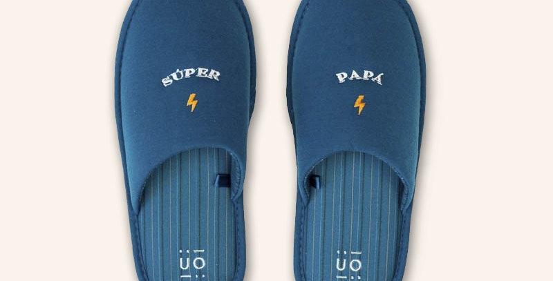 "Zapatillas ""Súper papá"""