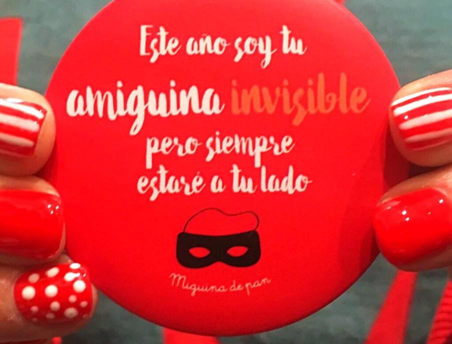 """Espejo """"Amig@ invisible"""""""