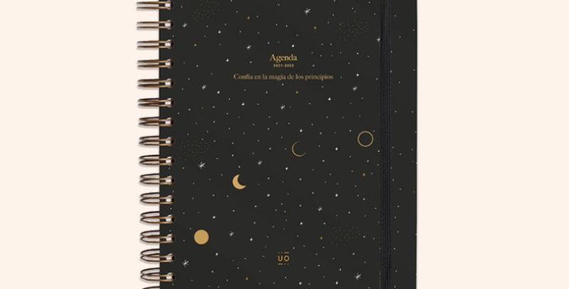 """Agenda escolar """"Luna"""" Día Página"""