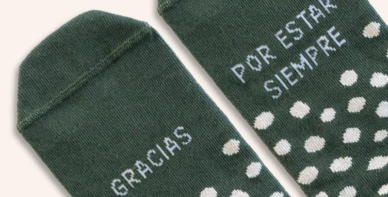 """Calcetines """"Gracias"""""""