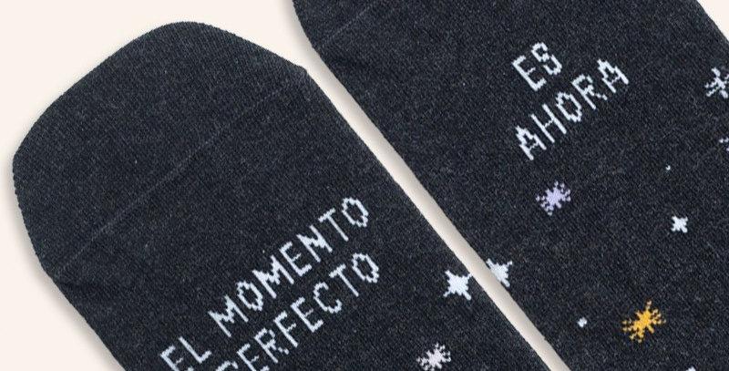 """Calcetines """"El momento perfecto"""""""