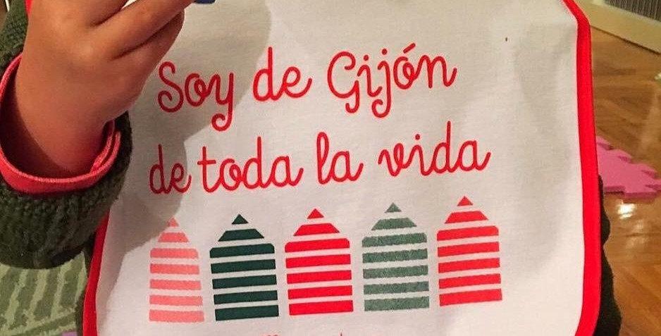 """Babero """"Gijón"""""""